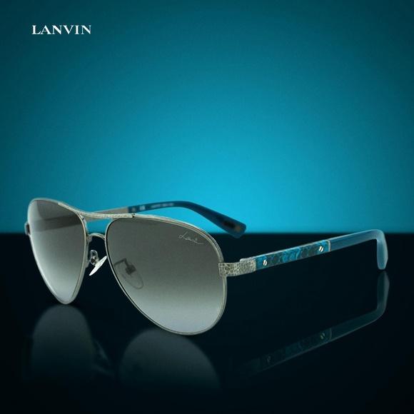 9850320d546c Lanvin Accessories | Snake Leather Sunglasses Sln037v0k20 | Poshmark